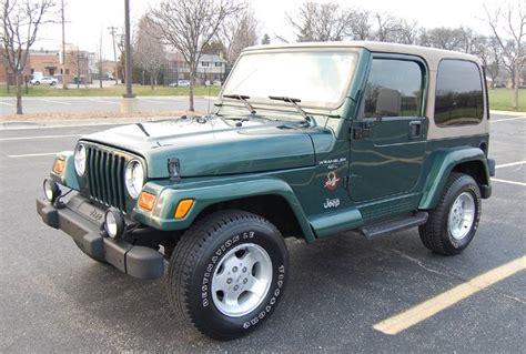 Jeep Wrangler 2000 2000 Jeep Wrangler 4 0l 5 Speed One Owner