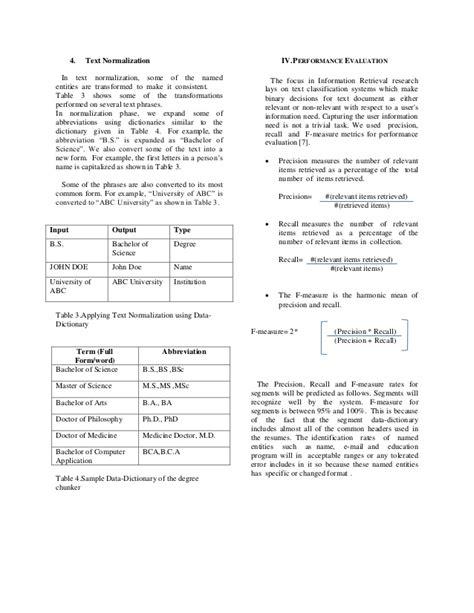 resume parsing resume format pdf