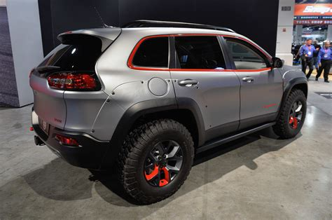 jeep cherokee dakar jeep customs sema 2014 photo gallery autoblog