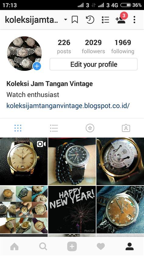 Koleksi Jam Tangan koleksi jam tangan vintage on instagram