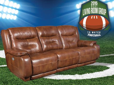 football leather couch best couch for watching football 2015 bob mills