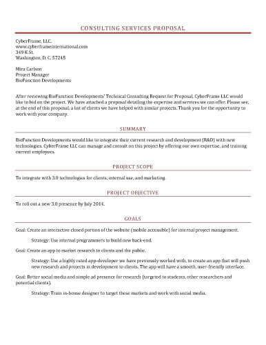 design management proposal 32 sle proposal templates in microsoft word