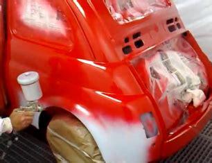 carrozziere fai da te riverniciare carrozzeria di un auto d epoca comefai