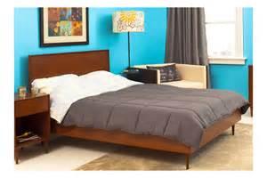 Mid Century Modern Bedroom Furniture Midcentury Modern Queen Bed Beds Bedroom By Urbangreen