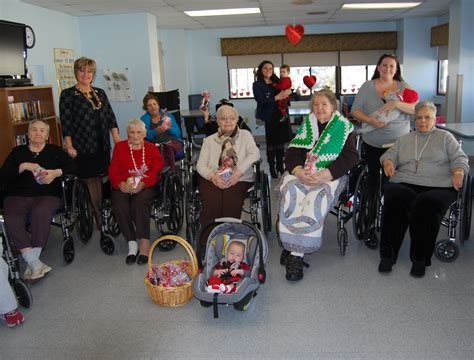 delivers s day gifts to nursing home