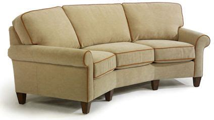 curved conversation sofa conversation curved sofa nutmeg cottage
