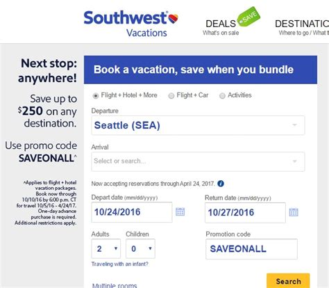 southwest coupons october