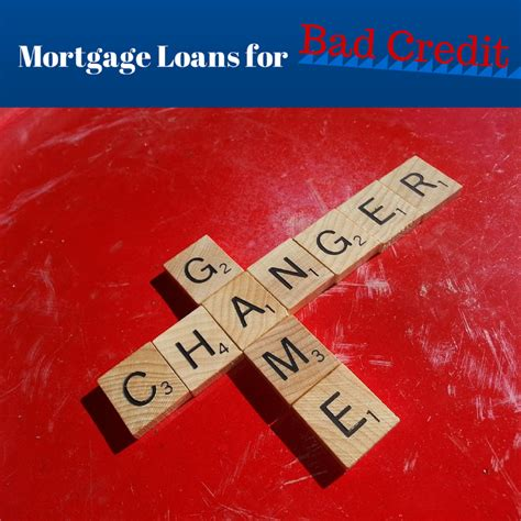 finally mortgage loans for bad credit