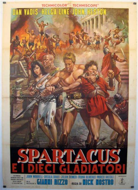 film gladiatori quot spartacus e i dieci gladiatori quot movie poster quot gli