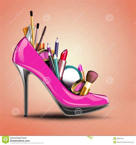 imagenes de zapatos para fondo de pantalla los cosm 233 ticos fijaron en el zapato de una mujer imagenes