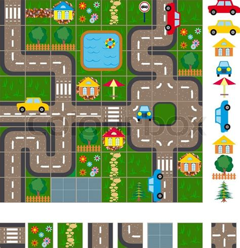 layout plan of town map layout of the streets of a small town it is easy to