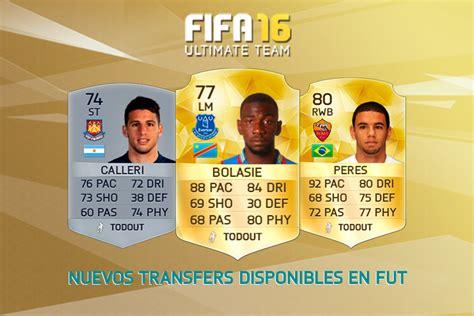 calendario fifa 16 ultimate team transfers fifa 16 18 08 16 todo ultimate team