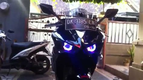 Lu Projector Yamaha R25 yamaha r25 projector headlight modification