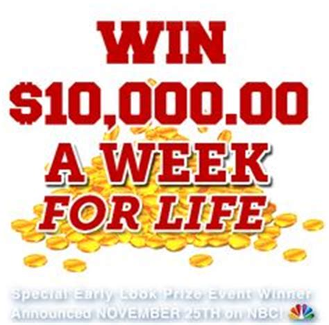 Pch 10000 A Week - i would love to win that big check from publisher clearing