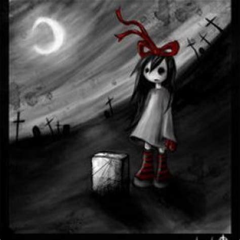 imagenes emo y goticas mejores ideas sobre dibujos terror chicas g 243 ticas y