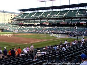 oriole park at camden yards section 61 seat views seatgeek