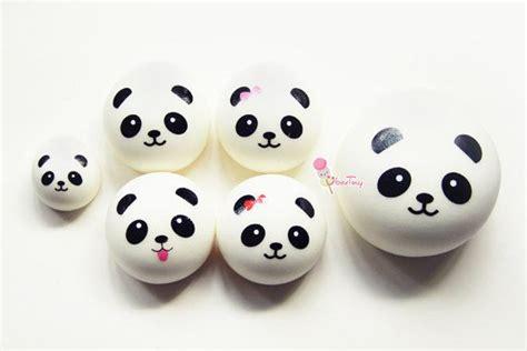 Squishy Medium Bun medium panda squishy bun charm by ubertiny on etsy 3 99