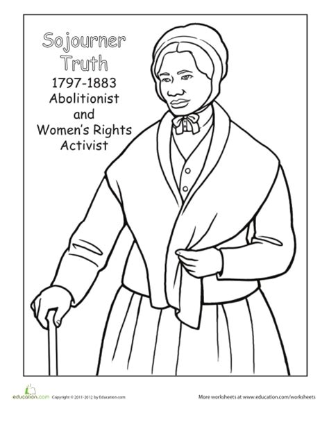 coloring page for harriet tubman harriet tubman coloring page coloring home
