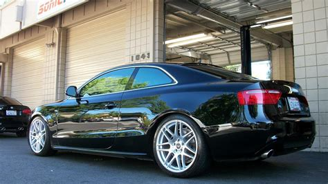 Audi A5 19 sonic ms audi a5 with 19 inch forgestar f14 wheels