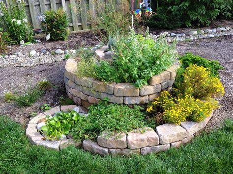Herb Spirals Philly Permaculture Rock Garden Herbs