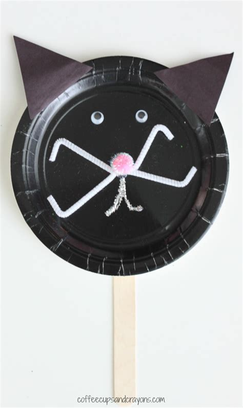 Paper Plate Cat Craft - 40 and fantastic paper plate crafts