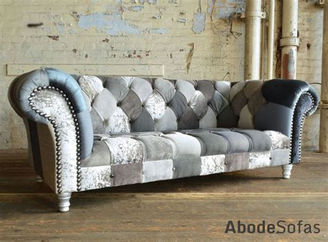 Patchwork Chesterfield Sofa Uk Brand New Anna Scroll Chesterfield Sofa Images
