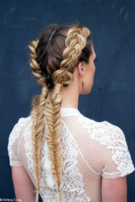 honey brown braided pigtails pictures   images  facebook tumblr pinterest