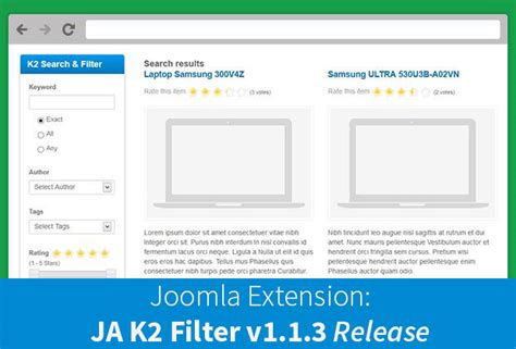 tutorial k2 joomla 3 joomla extension search module k2 filter v1 1 3 new