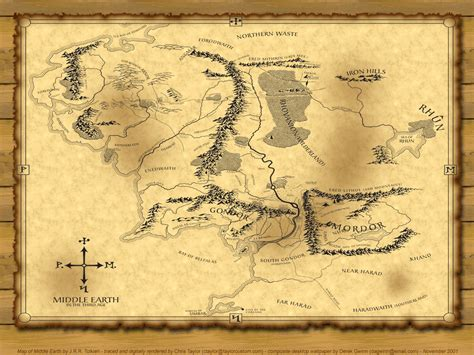 lord of rings map maps for morrowdim a chronological calendar of middle earth