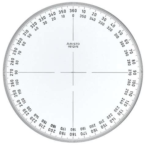circular protractor template 360 degree wheel printable protractor template calendar