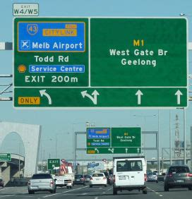 toll roads driving travel victoria: accommodation