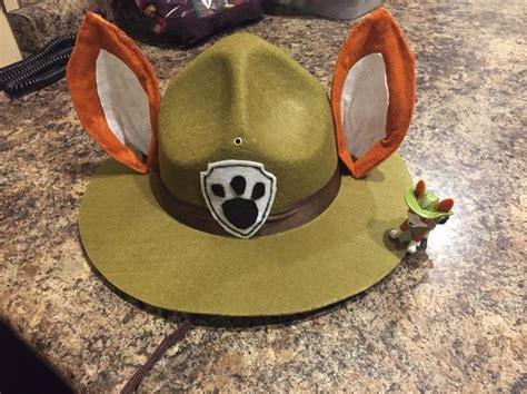 tracker hat  ears paw patrol halloween costume paw