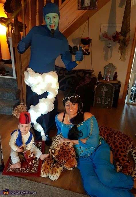 disneys aladdin family costume