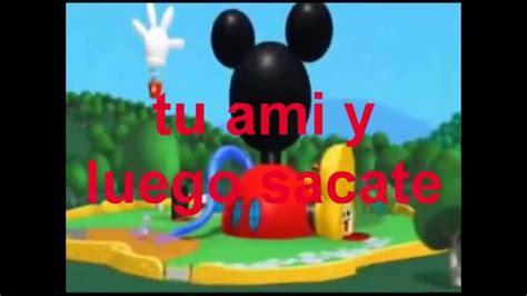 Mensajes Subliminales Mickey Mouse   la casa de mickey mouse mensaje subliminal youtube