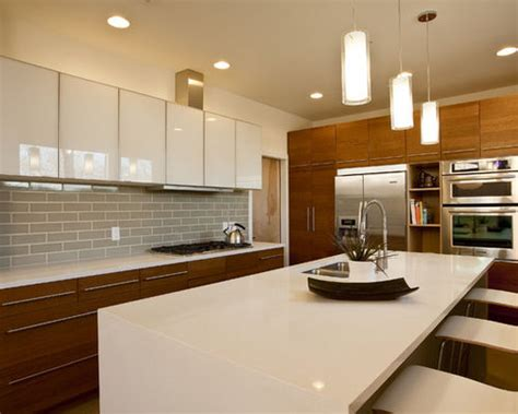 houzz modern kitchen cabinets white modern kitchen cabinets houzz