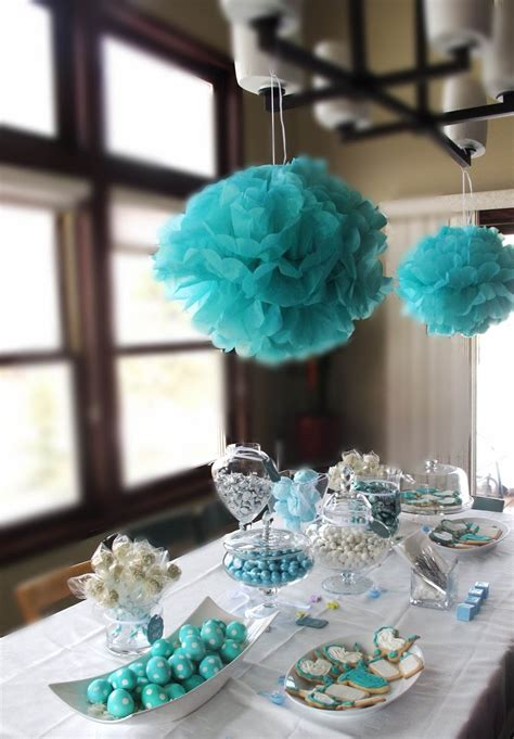 And Co Bridal Shower Theme by The Blissful Fit For A Baby Prince