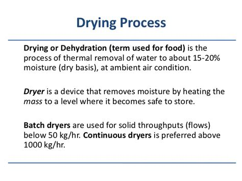 the drying curve part 1 2002 09 01 process heating drying process in food industry diydry co