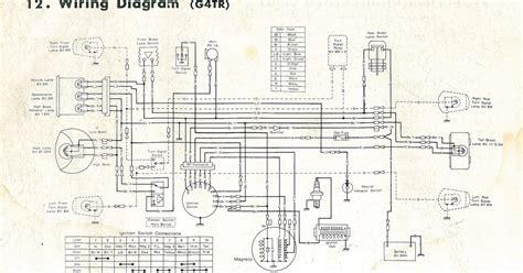 1975 Kawasaki 100 Wiring Diagram Online Wiring Diagram