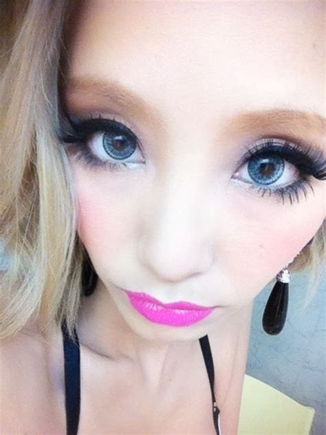 geo nudy blue circle lenses color eye contacts geo nudy blue circles ulzzang and winged eyeliner