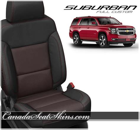 2015 2018 chevrolet suburban custom leather upholstery