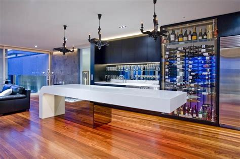Cool Kitchen Lighting Ideas by Home Bar Interior Design Ideas