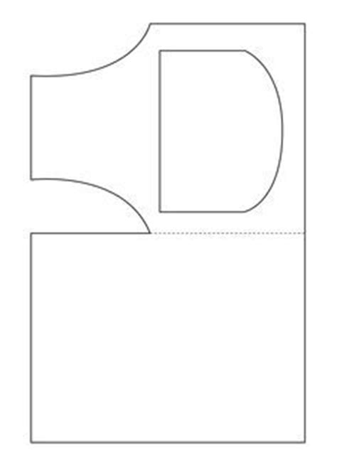 Template For Apron Card by Winter Crafts Print Your Mug Template At Allkidsnetwork
