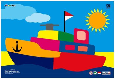 Mainan Edukatifedukasi Anak Puzzle Kereta Kayu puzzle kapal laut mainan kayu