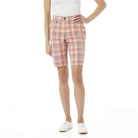 lee comfort fit shorts lee women s comfort fit bermuda shorts