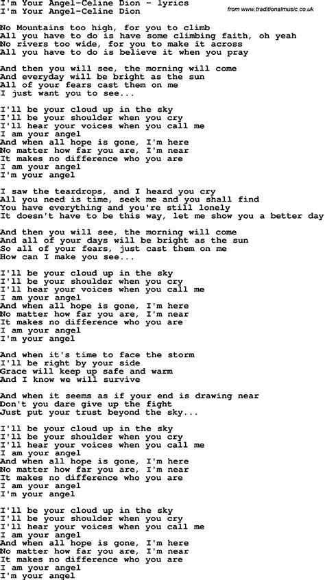 testo i m yours song lyrics for i m your dion