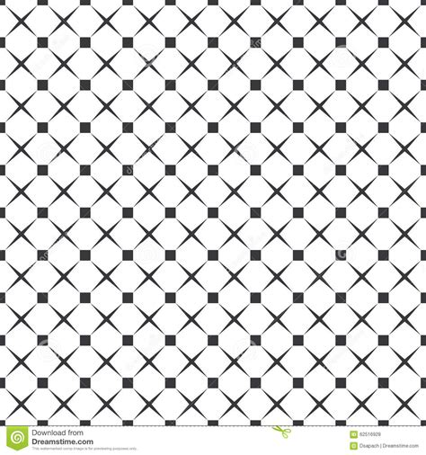 square dot pattern vector seamless black and white square dots and crosses pattern