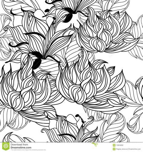 seamless pattern template monochrome seamless pattern stock photography image