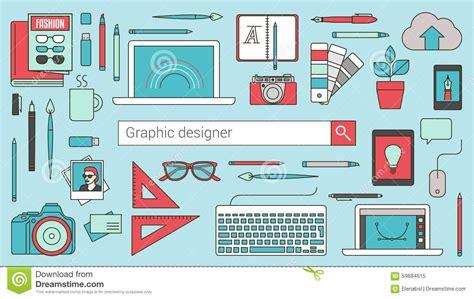 poster design online tool graphic designer illustrator and photographer stock