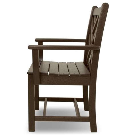 Chippendale Rocking Chair polywood chippendale 5 outdoor dining set the rocking chair company