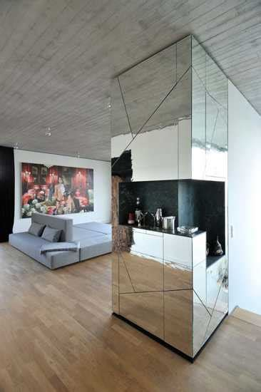 mirrors in interior design glamorous penthouse interior design with mirrored walls